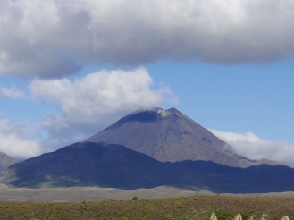 Mt Doom - scene of Lord of the Rings